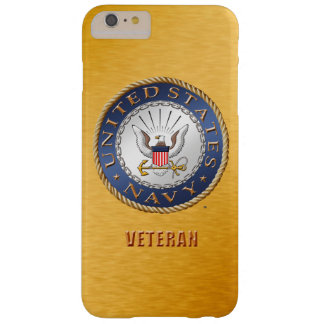 U.S. Navy Veteran iPhone / Samsung Barely There iPhone 6 Plus Case
