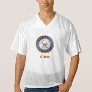 U.S. Navy Veteran Men's Augusta Football Jersey