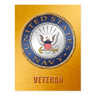 U.S. Navy Veteran Postcard