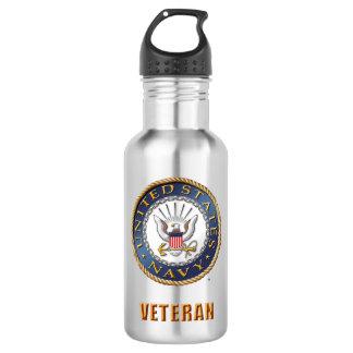 U.S. Navy Veteran Water Bottle
