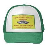 U.S. NAVY VIETNAM COMBAT CRAFT CREWMAN MESH HATS