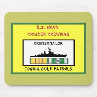 U.S. NAVY VIETNAM CRUISER CREWMAN MOUSE PADS