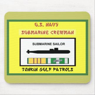 U.S. NAVY VIETNAM SUBMARINE CREWMAN MOUSE PAD