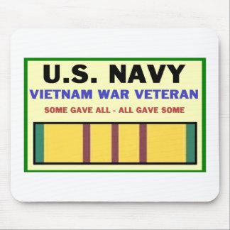 U.S. NAVY VIETNAM WAR VETERAN MOUSE PAD