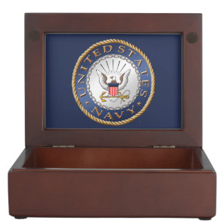 U.S. Navy Wooden Keepsake Box