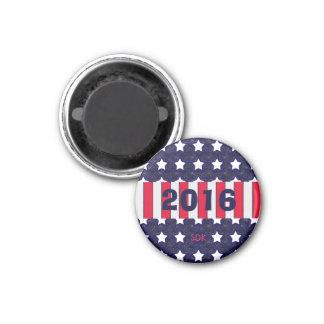 U.S. Patriotic Celebration of National Holidays 3 Cm Round Magnet