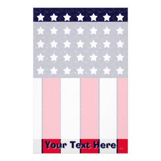 U.S. Patriotic Celebration of National Holidays Custom Stationery