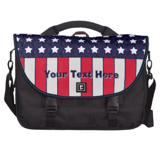 U.S. Patriotic Celebration of National Holidays Laptop Bags