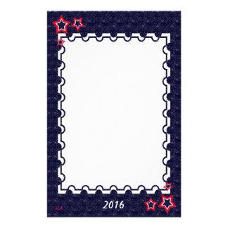 U.S. Patriotic Celebration of National Holidays Stationery