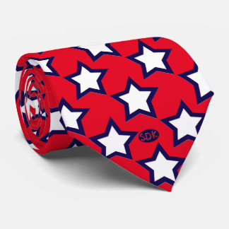 U.S. Patriotic Celebration of National Holidays Tie