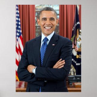 U S President Barack Obama Print