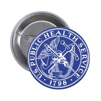 U.S. Public Health Service 6 Cm Round Badge