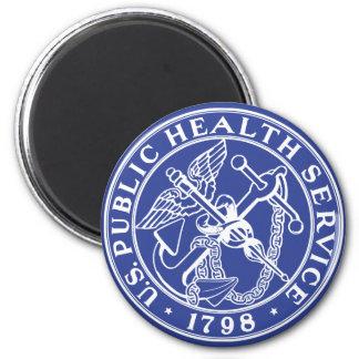 U.S. Public Health Service 6 Cm Round Magnet