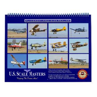 U.S. Scale Masters Calendar for scale modelers