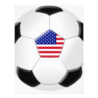 U.S Soccer Ball Flyer Design