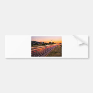 U.S. Space and Rocket Center at Sunset Bumper Stickers