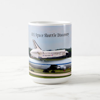 U.S. Space Shuttle Discovery Coffee Mug