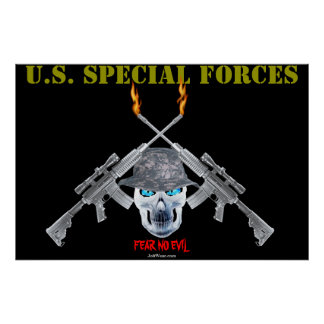 U.S. SPECIAL FORCES POSTER