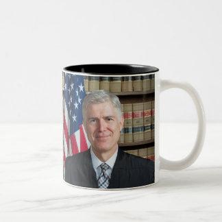 U.S. Supreme Court Justice Neil Gorsuch Two-Tone Coffee Mug