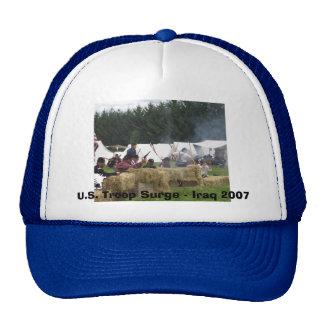 U.S. Troop Surge - Iraq 2007 Hats