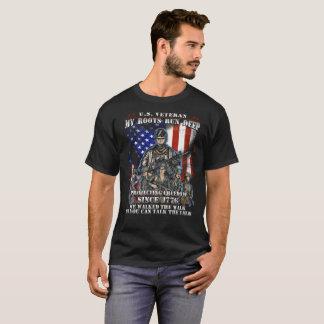 U.S Veteran My Roots Run Deep t shirt