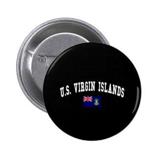 U S VIRGIN ISLANDS BUTTON