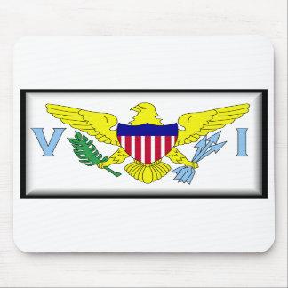 U.S. Virgin Islands Mouse Mat