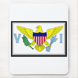 U.S. Virgin Islands Mouse Pad