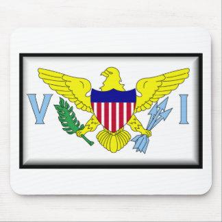 U.S. Virgin Islands Mouse Pad