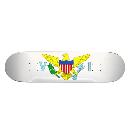 U.S. Virgin Islands Skate Deck