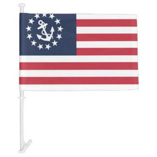 U.S. Yacht Ensign Patriotic Nautical Car Boat Flag