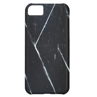 U-shaped Black Angular Curves black minimalism iPhone 5C Cover
