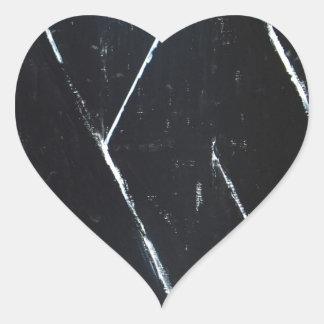 U-shaped Black Angular Curves (black minimalism) Sticker