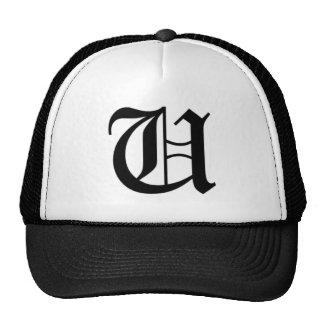 U-text Old English Hats
