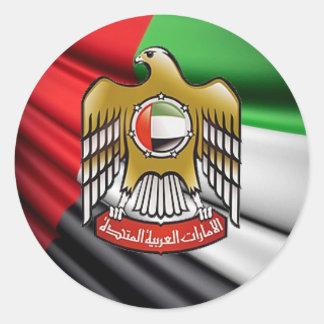 UAE CLASSIC ROUND STICKER