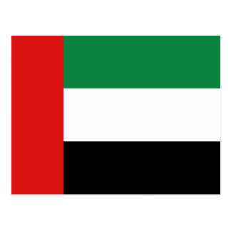 UAE Flag Postcard