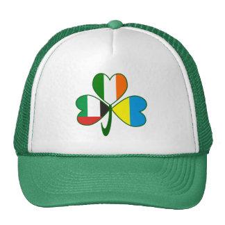 UAE Ukraine Ireland Shamrock Cap