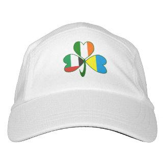 UAE UKraine Ireland Shamrock Hat