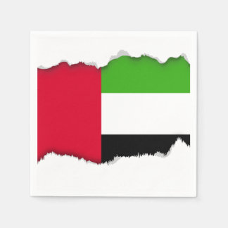UAE United Arab Emirates Flag Disposable Napkin