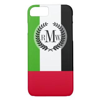 UAE United Arab Emirates Flag iPhone 7 Case