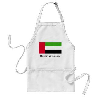 UAE United Arab Emirates Flag Standard Apron