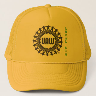 UAW/John Deere safety bump cap Local 838