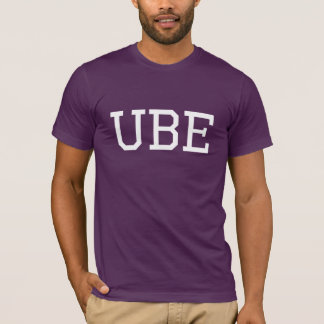 Ube Collegiate Purple Yam Filipino Food T-Shirt