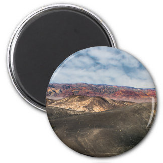 Ubehebe Crater Death Valley 6 Cm Round Magnet