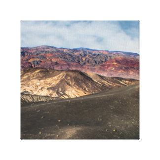 Ubehebe Crater Death Valley Canvas Print