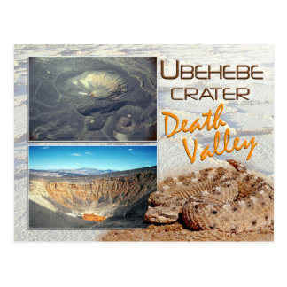 Ubehebe Crater, Death Valley National Park, CA Postcard