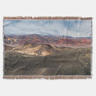 Ubehebe Crater Death Valley Throw Blanket