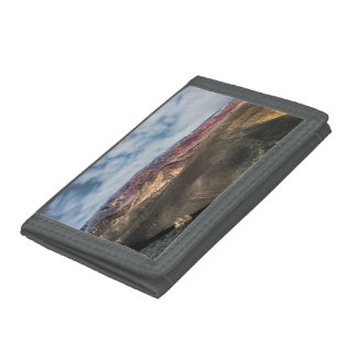 Ubehebe Crater Death Valley Trifold Wallet