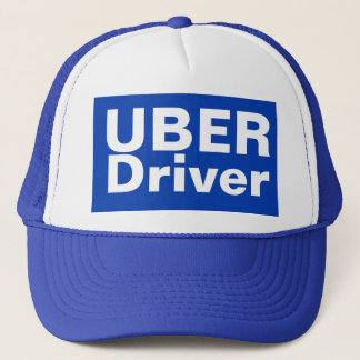 UBER Driver Baseball Cap Truckers Hat Washable