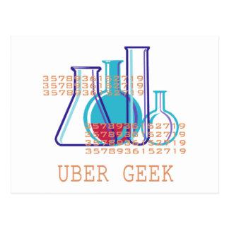 Uber Geek Postcard